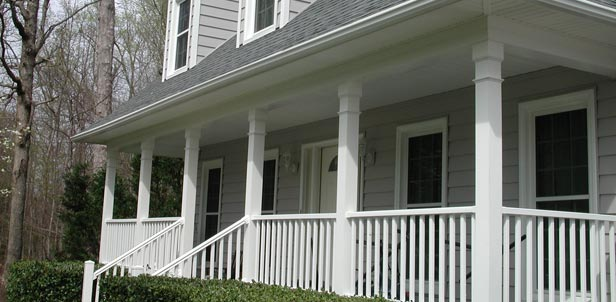 Variety of vinyl siding styles, manufacturers and trim accessories