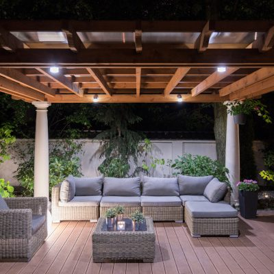 Add Some Flair by Adding Patio Columns to Your Backyard
