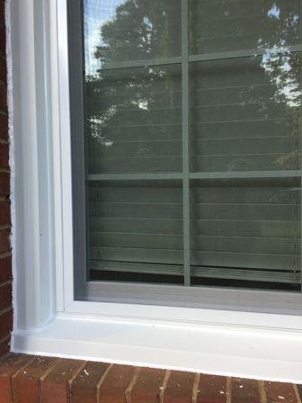 Alside Window close up of exterior