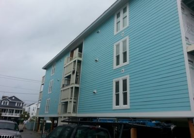 Hardiplank siding and hurricane proof vinyl windows Myrtle Beach South Carolina