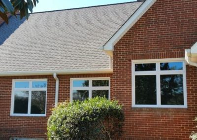 New vinyl windows at Kings crossing church Craig Avenue