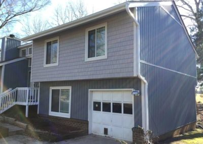 Yuill after Fairway Ridge 28277 side picture Mastic boardnbatten and shake siding